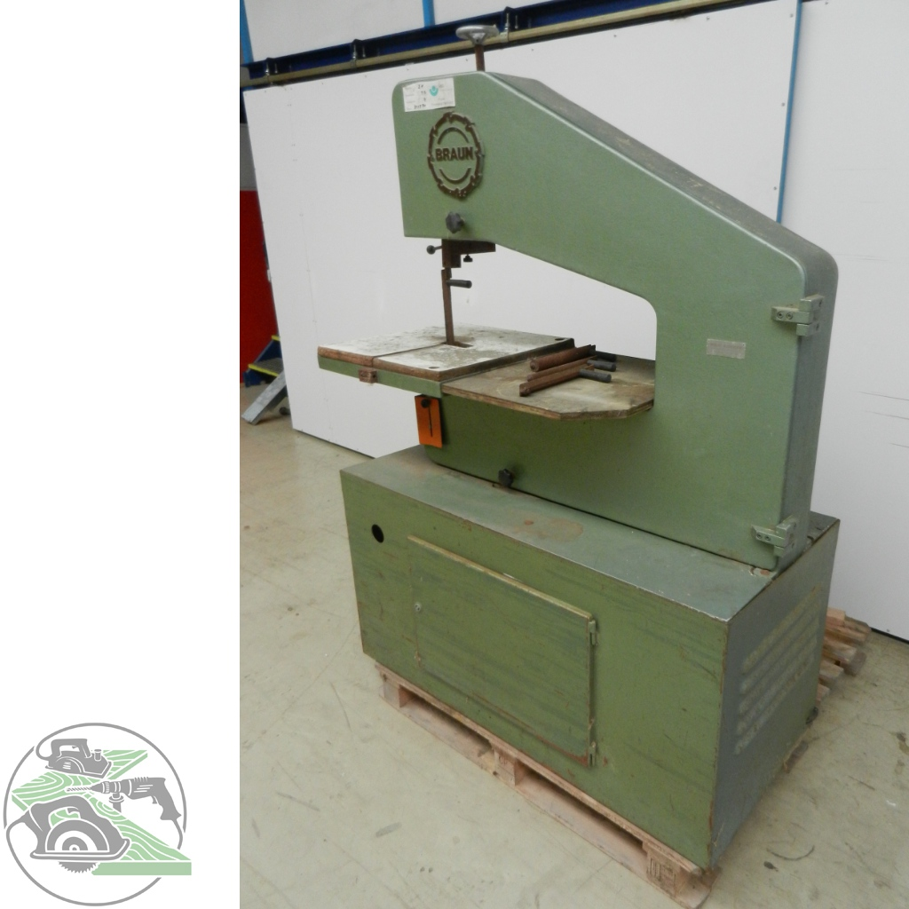 Braun komb. profile sanding machine u. band-saw type BP 700