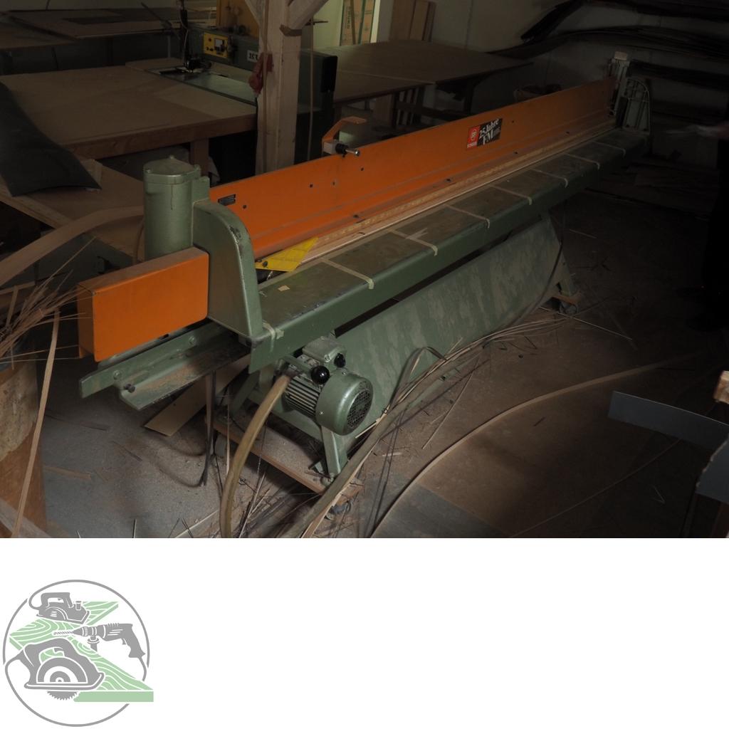 Scheer Furniersäge Typ FM8-3100